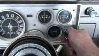1964 Plymouth Valiant engine running. 8/21/10.