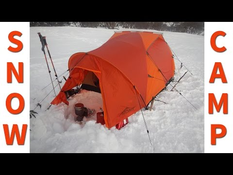 Winter Camping in