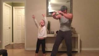 Daddy and Daughter Juju on that Beat