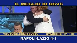 QSVS - I GOL DI NAPOLI-LAZIO 4-1 - TELELOMBARDIA / TOP CALCIO 24