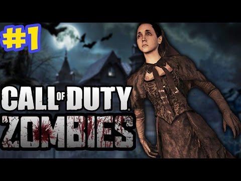 """HORROR HOSPITAL ZOMBIES!"" - Call of Duty Zombies ""COLLINGWOOD"" Custom Map #1"