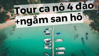 Tour cano 4 đảo, lặn ngắm san hô tại Phú Quốc của Be Home