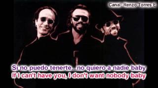 Bee Gees - If I Cant Have You (Traducida al español) Letra en ingles y español