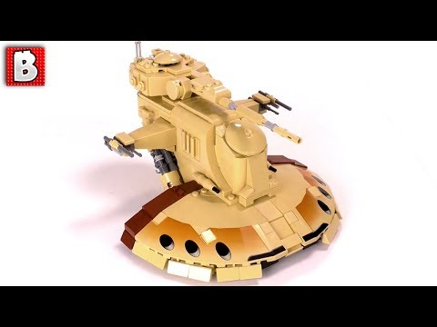 LEGO Armored Assault Tank Star Wars MOC!!! AAT Minfig Scale