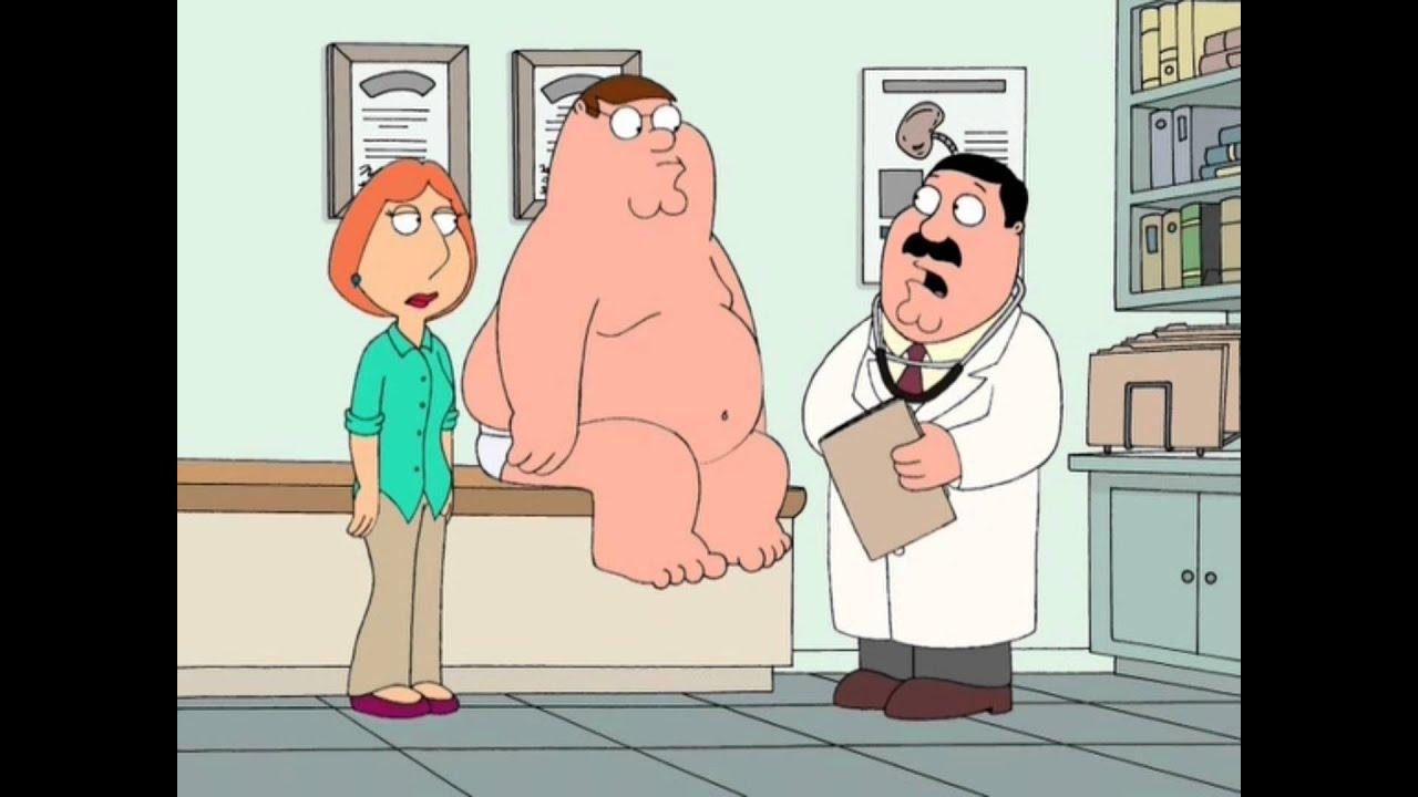 Гриффины как питеру проверили простату