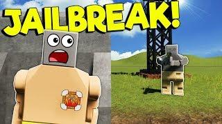 JAILBREAK ESCAPE CHALLENGE IN LEGO CITY! - Brick Rigs Multiplayer Gameplay - New Police Jailbreak