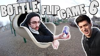 ULTIMATE GAME OF BOTTLE FLIP!   ROUND 6