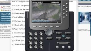 cisco video cheat sheet configuring single number reach
