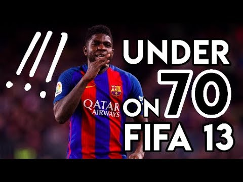 9 Incredible Players Who Had UNDER 70 Rating on FIFA 13