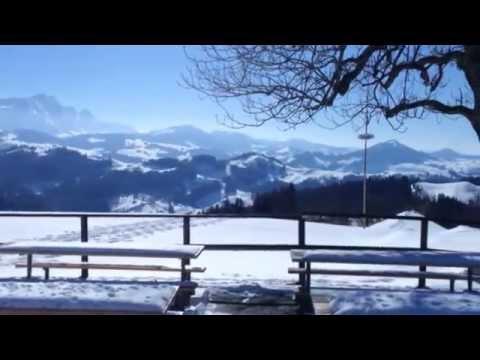 Fantastic place in Switzerland: Hohen Buche 1130 m ü. M, Appenzell Ausserrhoden