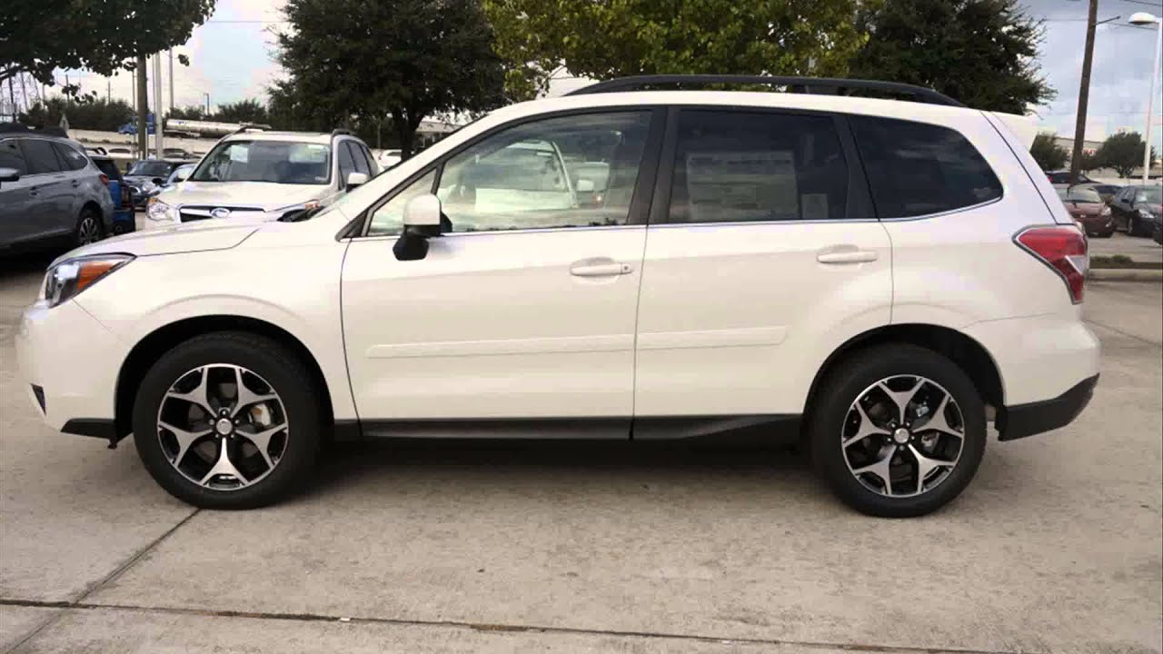 2015 model subaru forester 2.0xt - youtube