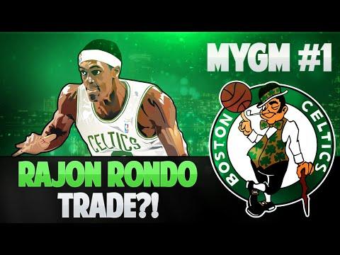 NBA 2K15 My GM Mode Ep.1 - Boston Celtics | Rondo TRADE + CRAZY Owner | PS4