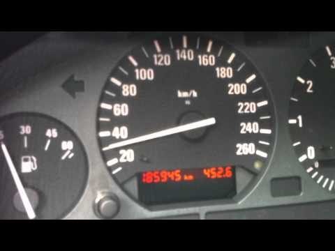 BMW E36 318is acceleration