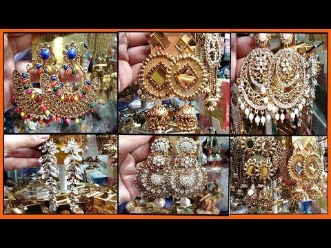 Cheapest partywear earrings wholesale market in delhi | sadar bazar jewellery market | delhi market