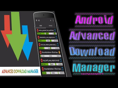 How To Use Advanced Download Manager - Android Apps