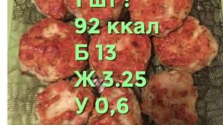 Рецепт диетических котлет. Калорийность блюда