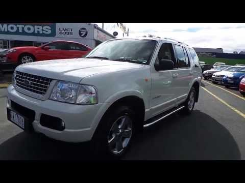 Used 2004 Ford Explorer Limited 4x4 for sale (Car City Ringwood Victoria)