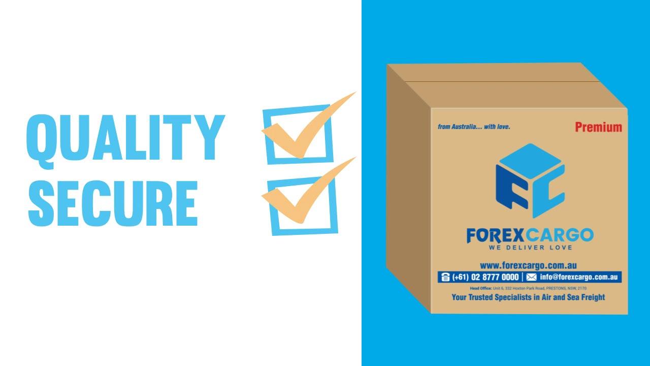 Forex Cargo Australia Balikbayan Box to the Philippines