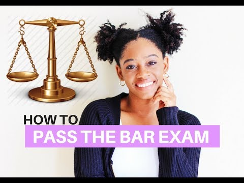 Pass The Bar Exam On The First Try