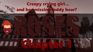 Creepy Crying Girl.. and her teddy bear? | Roblox: ROSES