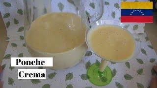 Ponche crema sin huevo sin leche condensada fácil y económico