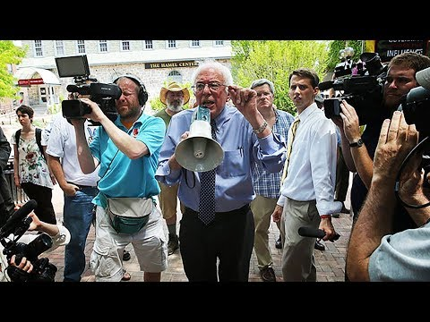 Bernie Sanders Joins Student Walkout For Gun Control