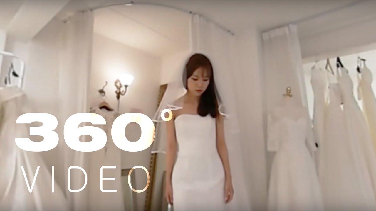 Vr 360 Wedding Ceremony: #1. 쭘 웨딩드레스 입던 날 360도 영상. 쭘이지커플 웨딩스토리 360 VR Video