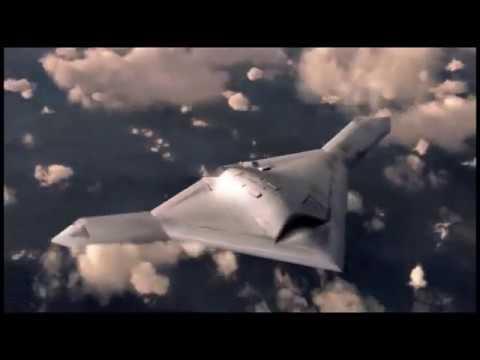 Innovations in aerospace Northrop Grumman stealth invisible plane / UFO