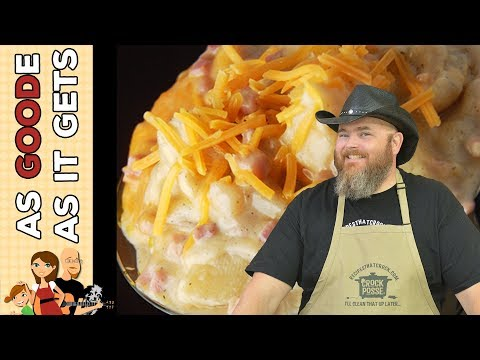 Crock Pot Ham And Ranch Potatoes
