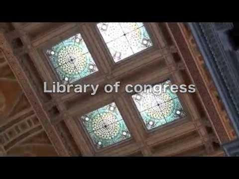 Library of congress ゴージャスな図書館!