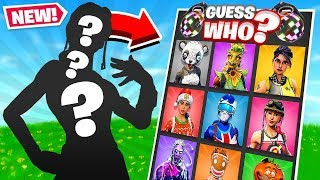 GUESS WHO NEW Game Mode in Fortnite Battle Royale