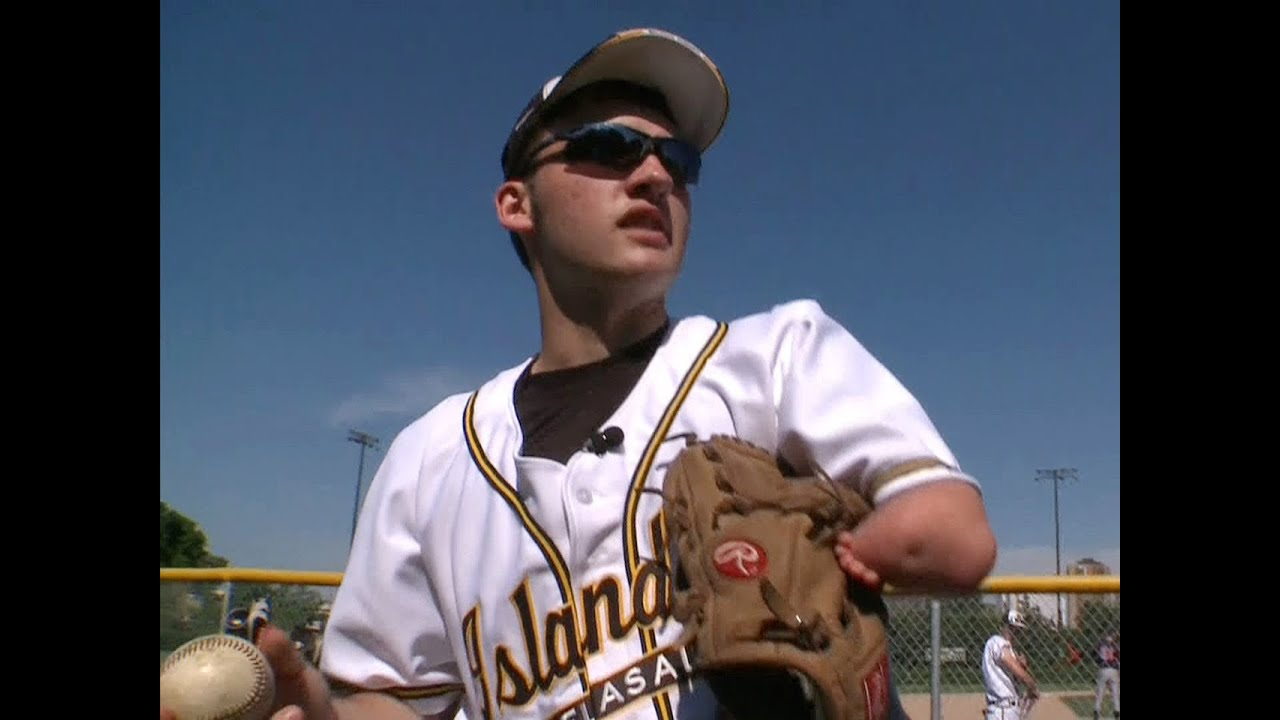 one armed pitcher determined to defy the odds youtube