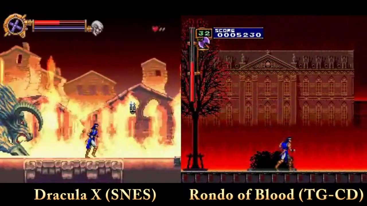 Rondo of blood rom