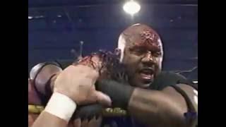 New Jack vs  Sabu vs  The Sandman Bodybag Match 05 18 02