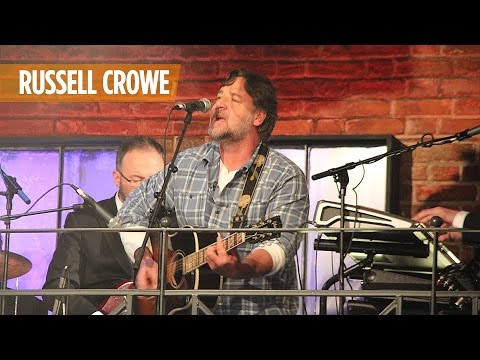 Russell Crowe performs with the Late Late Show band   The Late Late Show   RTÉ One