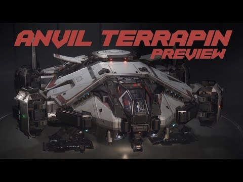 Anvil Terrapin - Ship and Damage Model Preview   Star Citizen