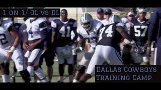 Dallas Cowboys Training Camp Highlights Part 4 || Dorrance Armstrong Beats Tyron Smith ||