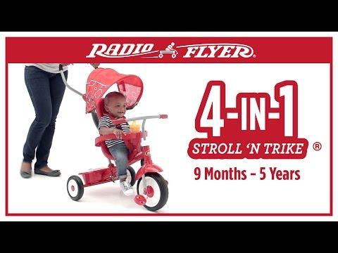 Radio Flyer 4-in-1 Stroll 'N Trike ®