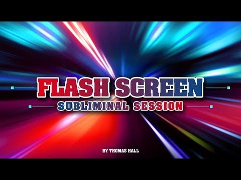 Sleep Easy - Flash Screen Subliminal Session - By Thomas Hall