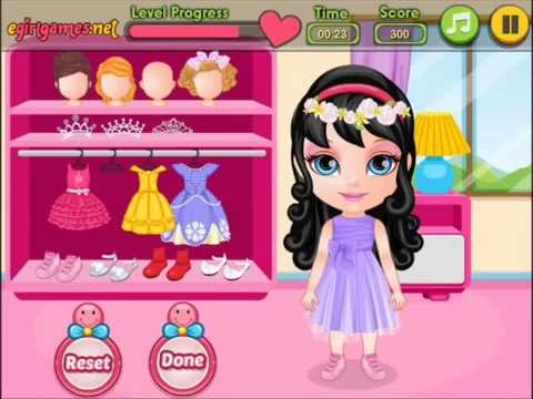 Play Baby Barbie Beauty Pageant Video Play for Little Girls-Barbie Games Online