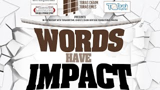 Words Have Impact with Rabbi Eli Mansour