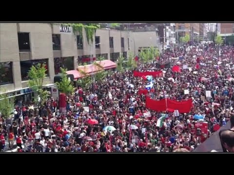 250,000+ Defy Anti-Protest Law in Quebec