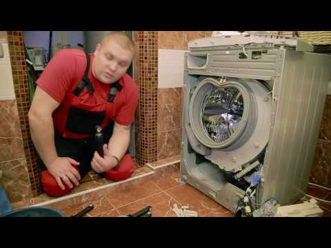 Замена насоса на стиральной машине LG