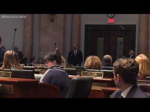 Jeff Hoover offers his resignation as Speaker of the Kentucky House
