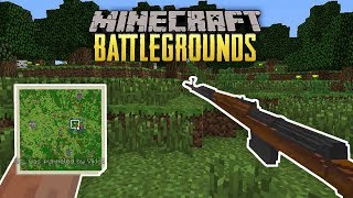 SNIPER FROM A DROP! - MINECRAFT BATTLEGROUNDS #2 (MC PUBG SERVER)