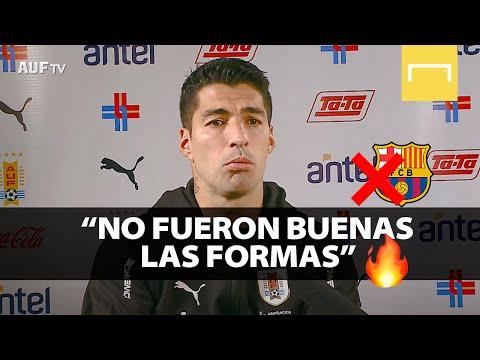 ¡Habló Luis Suárez sobre su salida del Barcelona y no se guardó NADA!