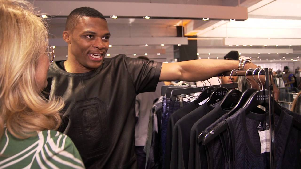various colors 0ae3c 16d32 Russell Westbrook XO Barneys New York Interview