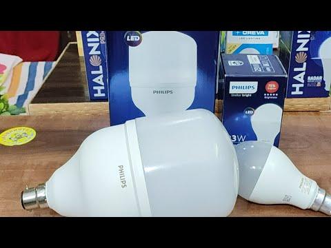 Philips Stellar Bright 40W Vs 23W LED Bulb