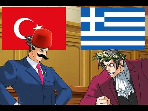 Average Greek vs. Turk debate but it's Ace attorney