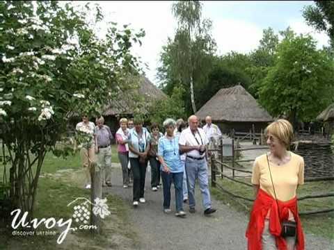 Pirogovo Museum - Ukraine Travel Video